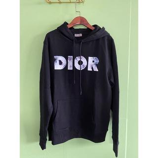 ディオール(Dior)のDior AND DANIEL ARSHAM 3Dロゴプリント コットンパーカー(パーカー)