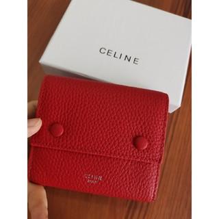 セリーヌ(celine)の送料無料 celine 三つ折り 財布(折り財布)