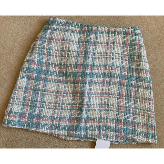 dholic(ディーホリック)の定価4990円❤️新品タグ付❤️DHOLIC ツイード風スカート レディースのスカート(ひざ丈スカート)の商品写真