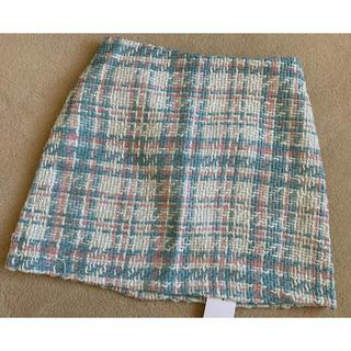 dholic - 定価4990円❤️新品タグ付❤️DHOLIC ツイード風スカート