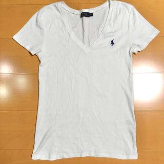 ポロラルフローレン(POLO RALPH LAUREN)のラルフローレン 白 Tシャツ(Tシャツ(半袖/袖なし))