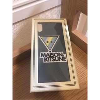メゾンキツネ(MAISON KITSUNE')の新品☆メゾンキツネ iPhone X ケース MAISON KITSUNÉ(iPhoneケース)