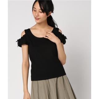 シークレットハニー(Secret Honey)のシークレットハニー 肩開きパフスリーブトップス Tシャツ カットソー シーハニ(Tシャツ(半袖/袖なし))