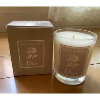 クリスチャンディオール(Christian Dior)のディオール ローズ キャンドル 190g(キャンドル)