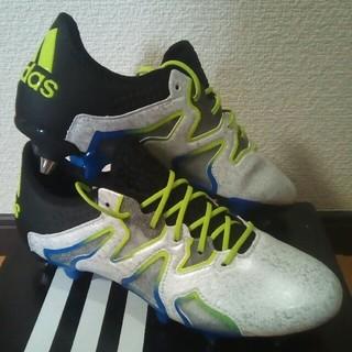 アディダス(adidas)の新品未使用 アディダスX15+ SL SG 24,5cm AQ2087(シューズ)
