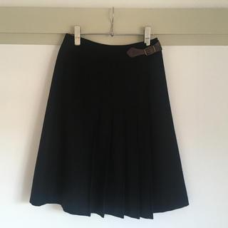 マーガレットハウエル(MARGARET HOWELL)のMARGARET HOWELL 膝丈ウールスカート(ひざ丈スカート)
