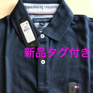 トミーヒルフィガー(TOMMY HILFIGER)の【新品タグ付】Tommy Hilfiger ポロシャツSサイズ紺(ポロシャツ)