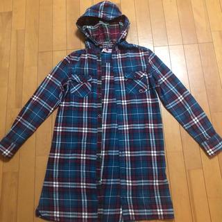 ランドリー(LAUNDRY)のLAUNDRY のフード付きチェックシャツ(シャツ/ブラウス(長袖/七分))