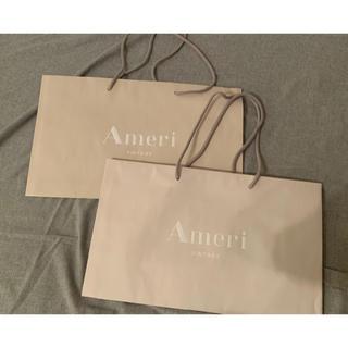 アメリヴィンテージ(Ameri VINTAGE)のレア★持ち帰りに使用したのみ★Ameri Vintageショッパー(ショップ袋)