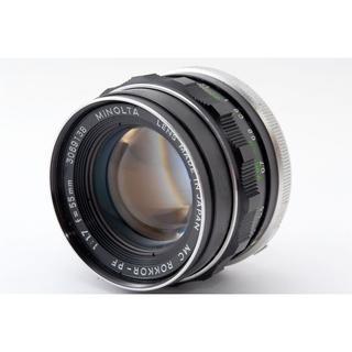 コニカミノルタ(KONICA MINOLTA)の良好♪☆明るい単焦点‼☆ MINOLTA ROKKOR-PF 55mm 1.7(レンズ(単焦点))