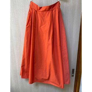 マジェスティックレゴン(MAJESTIC LEGON)のオレンジロングスカート(ロングスカート)