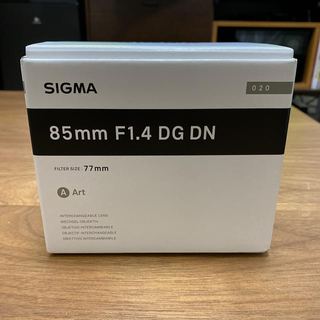 SIGMA - 【新品未使用】SIGMA 85mm f1.4 DG DN