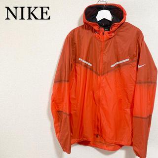 ナイキ(NIKE)の★美品★NIKE ウインドブレーカー メンズXL オレンジ ナイロンジャケット(ウェア)