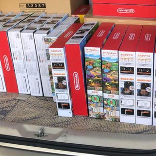 ニンテンドースイッチ(Nintendo Switch)の15個 リングフィットアドベンチャー 新品未開封 Nintendo Switch(携帯用ゲームソフト)