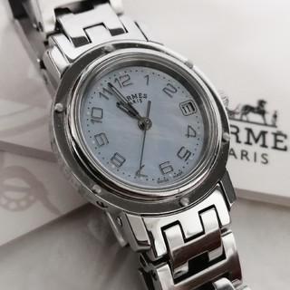 Hermes - エルメス シェル クリッパー レディース 腕時計
