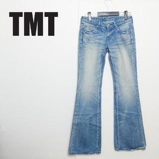ティーエムティー(TMT)のtmt フレア デニムパンツ(デニム/ジーンズ)