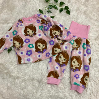 Disney - プリンセスソフィア★ディズニー★ふわふわあったかパジャマ