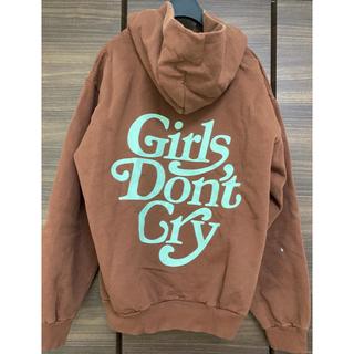 ジーディーシー(GDC)の新品未使用Girls Don't Cry GDC  パーカー Mサイズ ブラウン(パーカー)