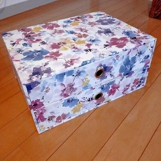 Francfranc - Francfranc 花柄 引き出し ケース 小物入れ 収納BOX