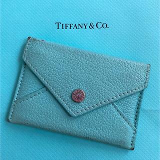 ティファニー(Tiffany & Co.)のTiffany & Co ティファニー ブルー 名刺入れ カードケース(名刺入れ/定期入れ)