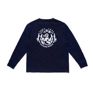 HUMAN MADE  ネービー   メンズ   サイズL  長袖Tシャツ(Tシャツ/カットソー(七分/長袖))