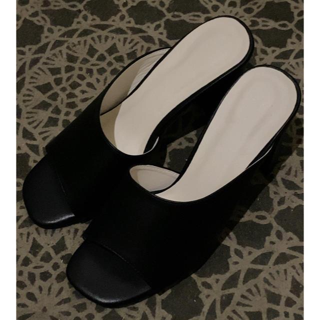 GRL(グレイル)のGRL スクエアトゥミュールサンダル レディースの靴/シューズ(サンダル)の商品写真