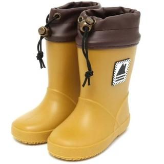 アンパサンド(ampersand)の新品 アンパサンド 長靴 レインシューズ マスタード 17(長靴/レインシューズ)