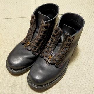 アニエスベー(agnes b.)のagnes b. アニエスベー レザーブーツ サイズ41(26cm)USED (ブーツ)