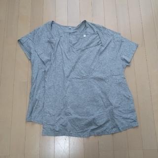 ムジルシリョウヒン(MUJI (無印良品))の無印良品 授乳Tシャツ(マタニティトップス)