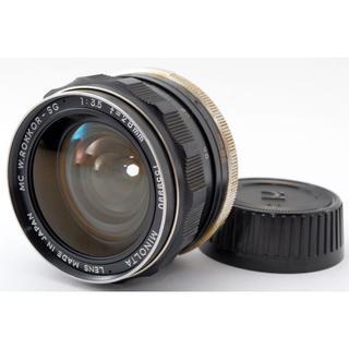 コニカミノルタ(KONICA MINOLTA)の良好♪風景撮影にも最適‼ MINOLTA ROKKOR-SG  28mm 3.5(レンズ(単焦点))