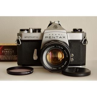ペンタックス(PENTAX)のPentax SP + Super-Takumar 1:1.8 / 55 美品・(フィルムカメラ)