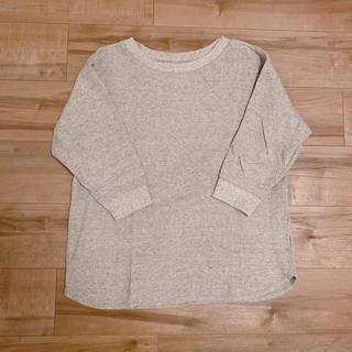 UNIQLO - ユニクロ ワッフルT(七分袖)
