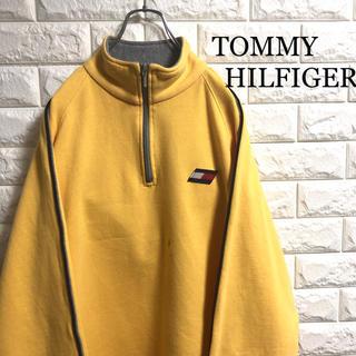TOMMY HILFIGER - *90's*オールドトミー*ハーフジップ*スウェットトレーナー*XLサイズ相当*