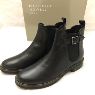 MARGARET HOWELL - Margaret Howell idea サイドゴアショートブーツ23.5cm