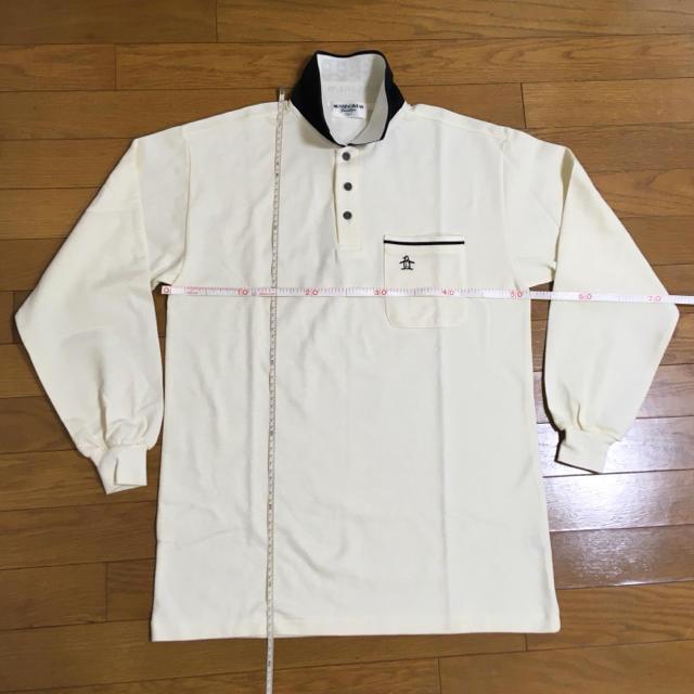 Munsingwear(マンシングウェア)のマンシングウェア・メンズ 長袖ポロシャツ  Lサイズ(新品・未使用) メンズのトップス(ポロシャツ)の商品写真