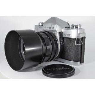 コニカミノルタ(KONICA MINOLTA)のミノルタ Minolta SR-3 フィルム #1175【入門用・モルト交換済】(フィルムカメラ)