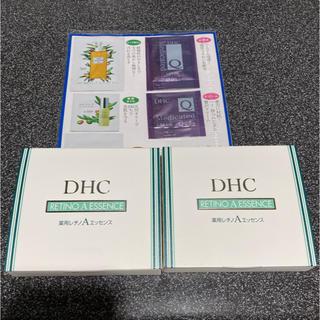 ディーエイチシー(DHC)の【新品未開封】DHC 薬用レチノAエッセンス サンプルおまけ付💖(美容液)