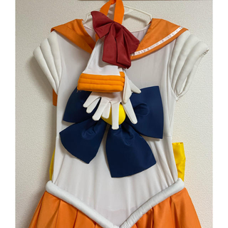 セーラームーン(セーラームーン)のセーラームーン ヴィーナス コスプレ XXL(衣装一式)