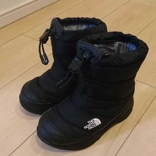ザノースフェイス(THE NORTH FACE)のノースフェイス☆ウォータープルーフ  ヌプシ  ブーツ  17センチ(ブーツ)