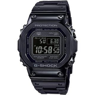 ジーショック(G-SHOCK)のカシオG-SHOCK 電波ソーラー モバイルリンク 腕時計 フルメタル ブラック(腕時計(デジタル))