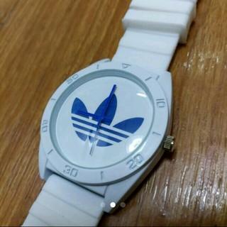 アディダス(adidas)のアディダス ラバーベルトブルークォーツ (腕時計)