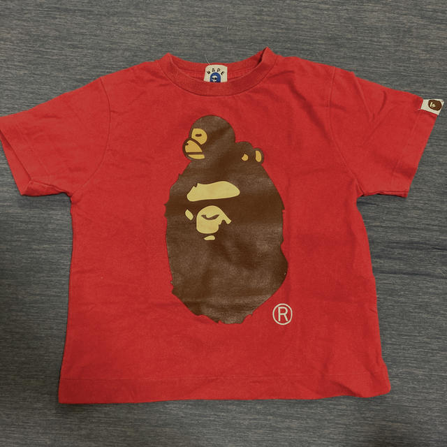 A BATHING APE(アベイシングエイプ)のBAPE KIDS 110 Tシャツ キッズ/ベビー/マタニティのキッズ服男の子用(90cm~)(Tシャツ/カットソー)の商品写真