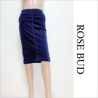 ローズバッド(ROSE BUD)のROSE BUD コーデュロイ ひざ丈 スカート♡ビームス ザラ マウジー(ひざ丈スカート)