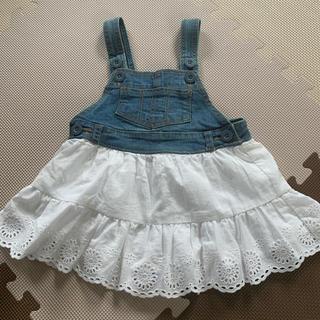 ニシマツヤ(西松屋)の西松屋 ジャンパースカート(スカート)