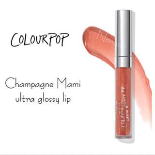 カラーポップ(colourpop)のcolourpop 🍬 Champagne Mami(リップグロス)