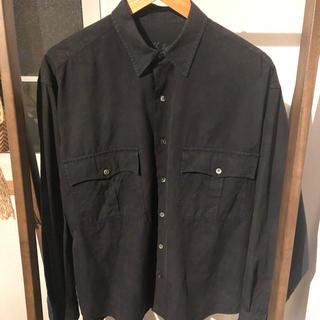 PORTER - ポータークラシック porterclassic ロールアップシャツ