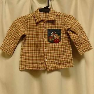 ミキハウス(mikihouse)のミキハウスシャツ80cm(シャツ/カットソー)