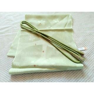 新品 正絹 帯揚げ・帯締め セット⑦