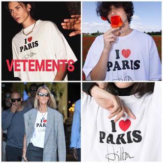 1点のみ dude9   韓国 Tシャツ vetements ヴェトモン