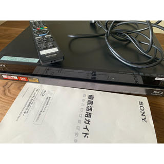 SONY - SONY ブルーレイディスクレコーダー HDD320GB BDZ-RX35